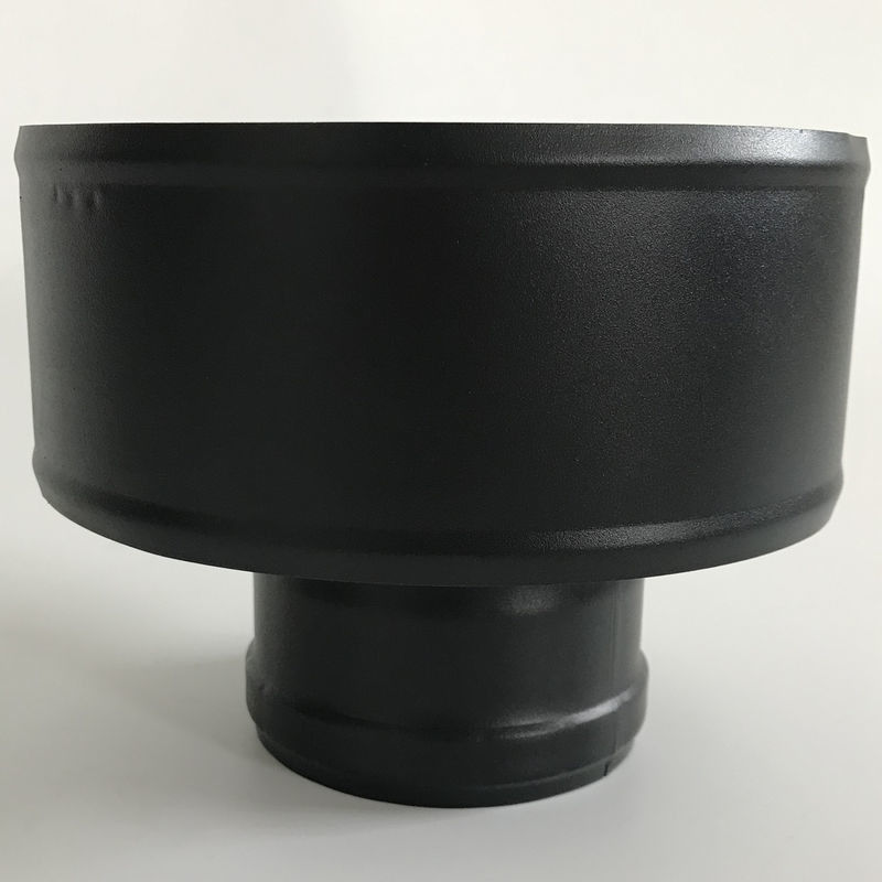 Boiler Chimney Flue Rain Caps No Insulation Customizable Size For Generator